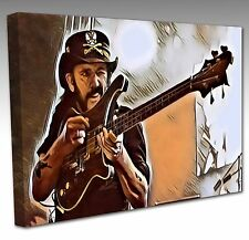 LEMMY Of MOTORHEAD Large 30 Inch Pop Art Canvas Art Picture Print NEW