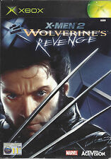 X-MEN 2 WOLVERINE'S REVENGE for Xbox - with box & manual - PAL