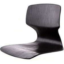 Black Floor Chair Tatami Japanese Zaisu Asian Legless Sitting Seat Reclining