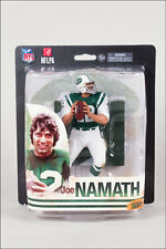 McFarlane Sports 2014 Super Bowl Issue NFL Joe Namath (NY Jets) .. ACTION FIGURE
