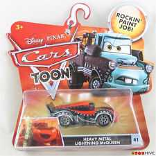 Disney Pixar Cars Toon Heavy Metal Lightning McQueen #41