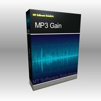 MP3 Gain Increase Volume Music Normalizer Software Computer Program
