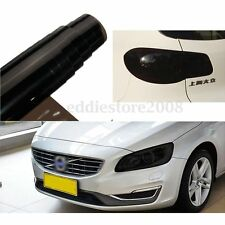 16'' x 48'' Deep Smoke Car Tint Headlight Fog Tail Lights Vinyl Film Wrap Sheet