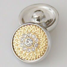 Genuine Snap It Button Charm Fit Snaps Style Jewelry  **We Combine Shipping**