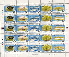 TRISTAN DA CUNHA:2005 Islands issue 2 sheetlet SG 823a x 5  unmounted mint