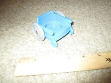 Fisher Price Little People School Bus Part Dr. Doctor office blue wheelchair toy