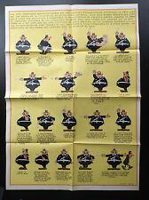 Poster Supplement agent 212  Du Journal Spirou N° 2083 de 1978