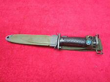 US Original Post Korean War ERA M1-Garand M5A1 Bayonet MILPAR CO. W/Scabbard