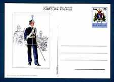 SAN MARINO - Cart. Post. - 1979 - Uniformi militari. Sottufficiale. E4549