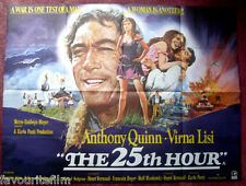 Cinema Poster: 25TH HOUR, THE 1967 (Quad) Anthony Quinn Michael Redgrave