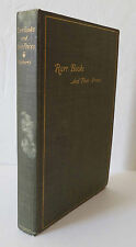 Rare Books and Their Prices 1896 Roberts 1st Ed. Pottery Porcelain Stamps
