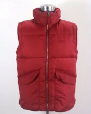 Mens TOMMY HILFIGER Padded gilet Size M, Sleeveless red jacket NDR540