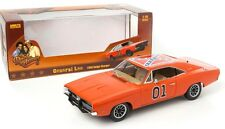 1969 DODGE CHARGER from DUKES OF HAZZARD - 'GENERAL LEE' - 1:18 Scale AUTOWORLD