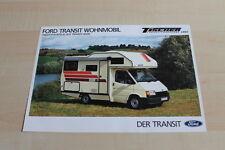 139616) Ford Transit - Tischer Wohnmobil - Prospekt 11/1987