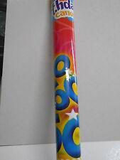 SPARACORIANDOLI 60 ANNI - Addobbi festa 60° Compleanno, tubo coriandoli 30 cm