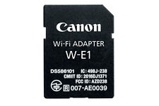 Canon W-E1 Wi-Fi Mobile Adapter for EOS 7D Mark II 5DS R DSLR Cameras