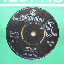 "THE BEATLES Michelle / You Won't See Me India pressing 7"" Parlophone  DPE 187"