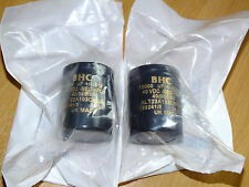 2 *BRAND NEW* BHC B.H.C. capacitors Naim Audio PSU NAP180 140 10,000uF 40V RARE!