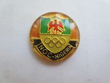 NOC (National Olympic Committee) Nigeria Olympic Pin - Rare