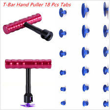 Car Body Panel Sheet Metal Paintless Dent Removal Repair Tools T-Bar Hand Puller