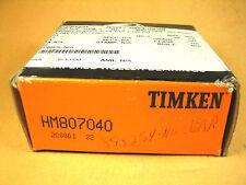 TIMKEN  HM807040  Tapered Roller Bearing