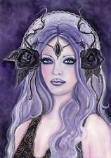 Original art CLEARANCE fantasy woman paintings by Renee L Lavoie USA