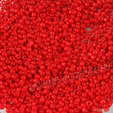 1000pcs New Wholesale 2mm Red Glass Mini Seed Bead Fit DIY Jewelry Making BS