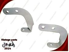 BRAND NEW CUSTOMIZED PAIR OF SIDE RACKS FITTING FOR TRIUMPH 3HW & 3SW MOTORCYCLE