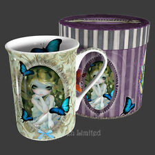 LILY Strangeling Butterfly Fairy Fine Bone China Mug By Jasmine Becket-Griffith