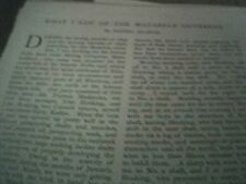 book article 1897 - what I saw of the matabele outbreak by daniel kearns