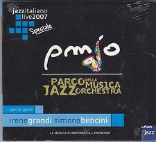 PARCO DELLA MUSICA JAZZ ORCHESTRA - jazz italiano live 2007 CD