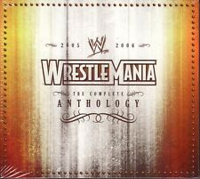 2 DISC DVD SET - WRESTLEMANIA 21 & 22 - WWE Wrestling WWF ANTHOLOGY - Brand New!