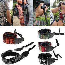 Vintage Camera Shoulder Neck Strap Belt Fr SLR DSLR Nikon Canon Sony Panasonic
