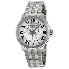 Raymond Weil Tango Chronograph Silver Dial Stainless Steel Mens Watch