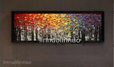 Hand painted Canvas Oil Painting Knife Painting Money tree NO Frame
