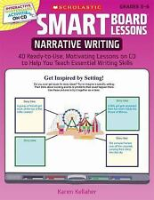 SMART Board® Lessons: Narrative Writing: 40 Ready-to-Use, Motivati-ExLibrary