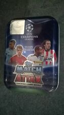 Match Attax Champions league 2015/16 Tin +80 cards (15 shiny)