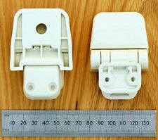 Jabsco Toilet Seat Hinge Set for Regular Wood Assembly (29098-2000)