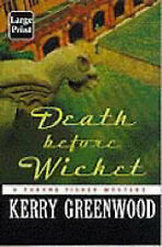 Death before Wicket: A Phryne Fisher Mystery by Kerry Greenwood (Paperback,...