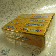 30 JUICY FRUIT Original Yellow Wrigley's Chewing Gum Wrigley Soft