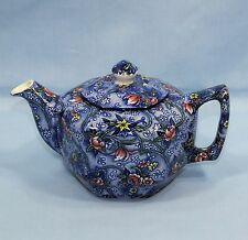 RINGTONS TEA MERCHANTS SADLER & SONS CHINTZ FLOWER TEAPOT