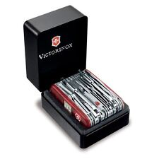 Victorinox Swiss Army Knife, Swisschamp XAVT, Ruby Red Knive # 53509, New In Box