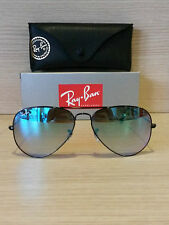 OCCHIALI DA SOLE RAY-BAN 3025 AVIATOR LARGE METAL Colore 002/4O SHINY BLACK 58
