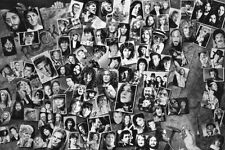 HISTORY OF ROCK & ROLL - COLLAGE ART POSTER - 24x36 LEGENDS RR01