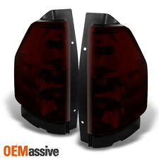 02-09 GMC Envoy Dark Red Tail Lights Brake Lamp Replacement Pair Left + Right