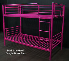 1 x BUNK BED SINGLE - PINK