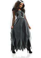 Halloween Party Cosplay Costume Witch Zombie Bride Fancy Dress Women Ladies