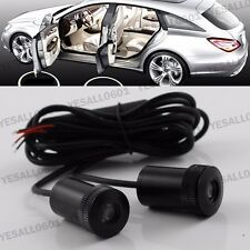 2x CREE LED Courtesy Door lights Step Ghost Shadow laser projector for SCANIA