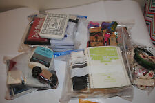 Ink Stamp pads and stamps lot