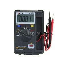 Mini VICTOR VC921 3 3/4 DMM Multimeter Pocket Digital AC/DC Multimeter Frequency